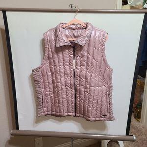 Calvin klein pink down vest size 3x